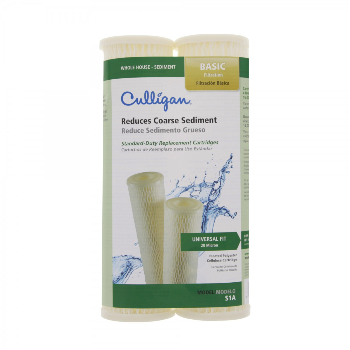 culligan s1a whole house water filter replacement cartridge 2pack level 2