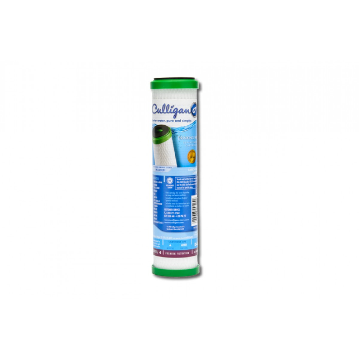 D 40 Culligan Level 4 Undersink Filter Replacement Cartridge