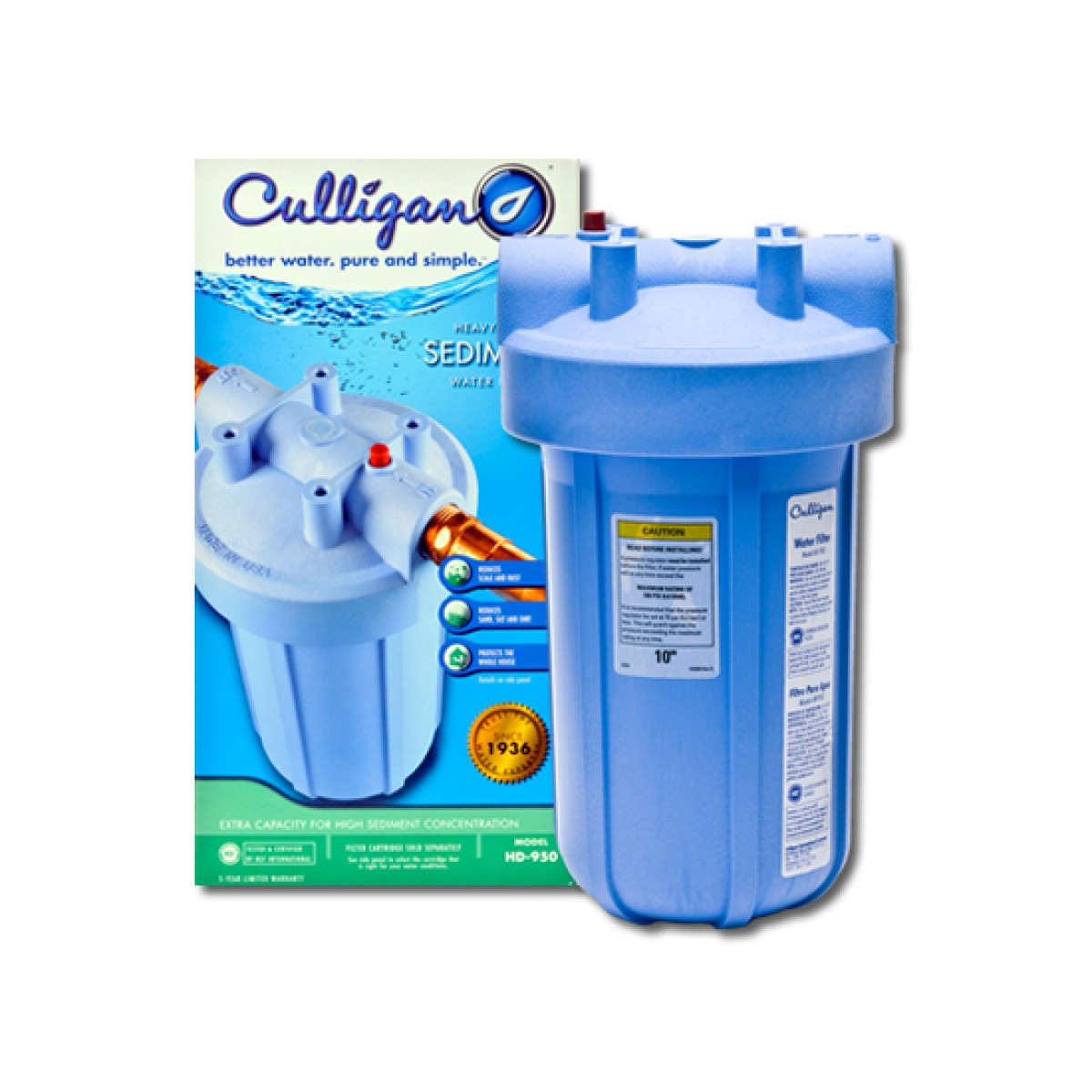 Hd 950 Culligan Whole House Filter System