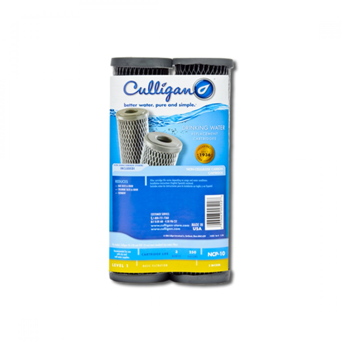 Ncp 10 Culligan Whole House Filter Replacement Cartridge