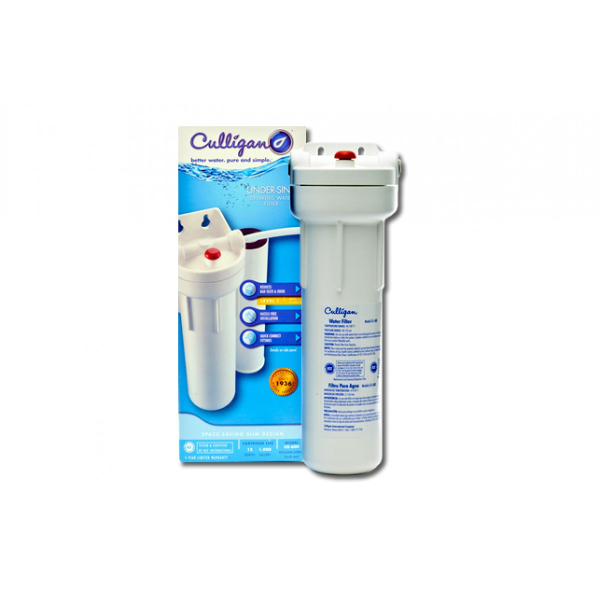 Us 600 Culligan Slim Undersink Filter System