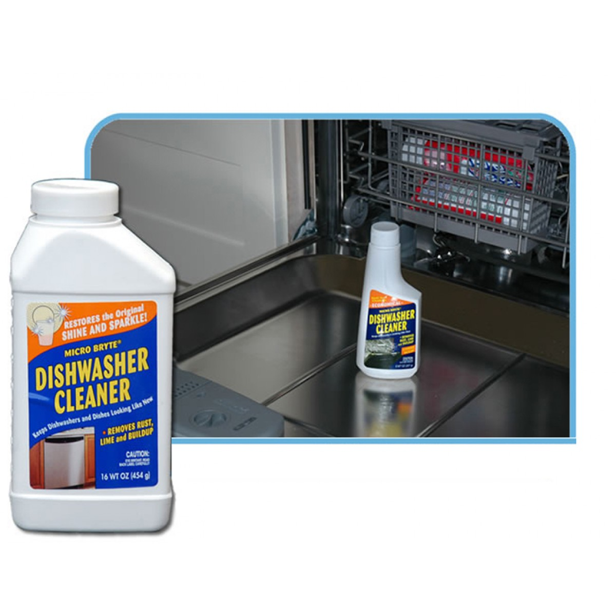 34608 Micro Bryte 16 Ounce Dishwasher Cleaner