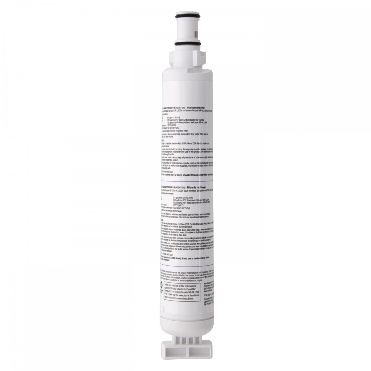 Whirlpool everydrop edr6d1 filter 6 refrigerator water filter - Whirlpool refrigerator ice and water filter pur ...