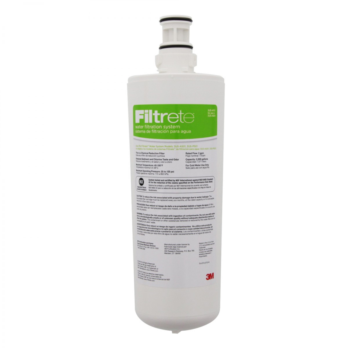 3m Filtrete 3us Af01 Undersink Water Filter