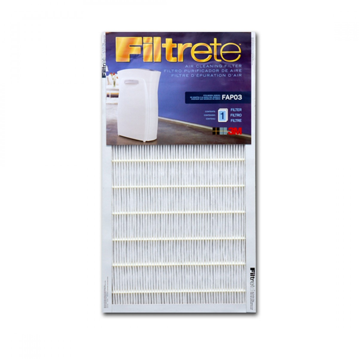 3m filtrete fapf03 air purifier filter. Black Bedroom Furniture Sets. Home Design Ideas