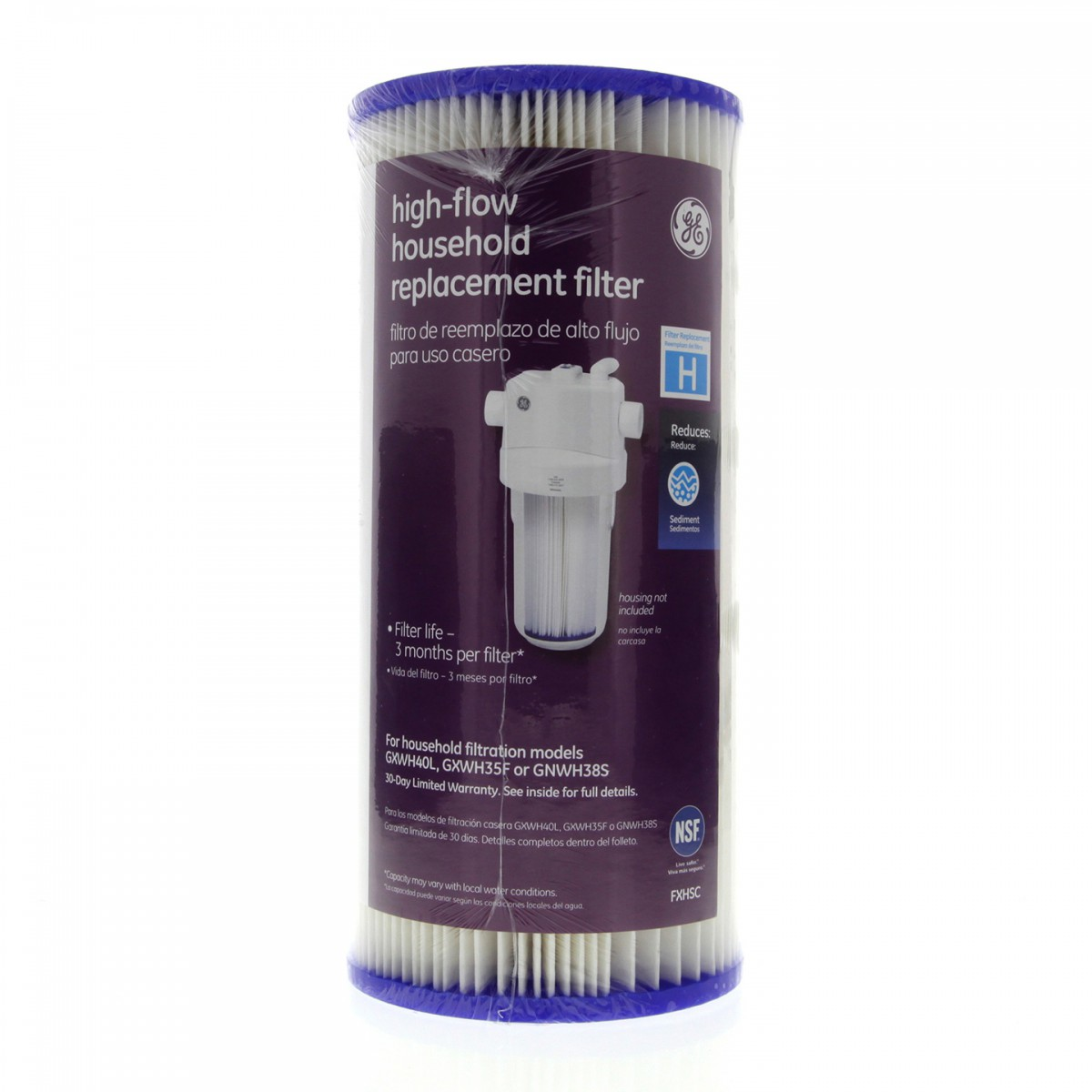 ge smartwater fxhsc whole house water filter replacement cartridge - Whole House Water Filtration
