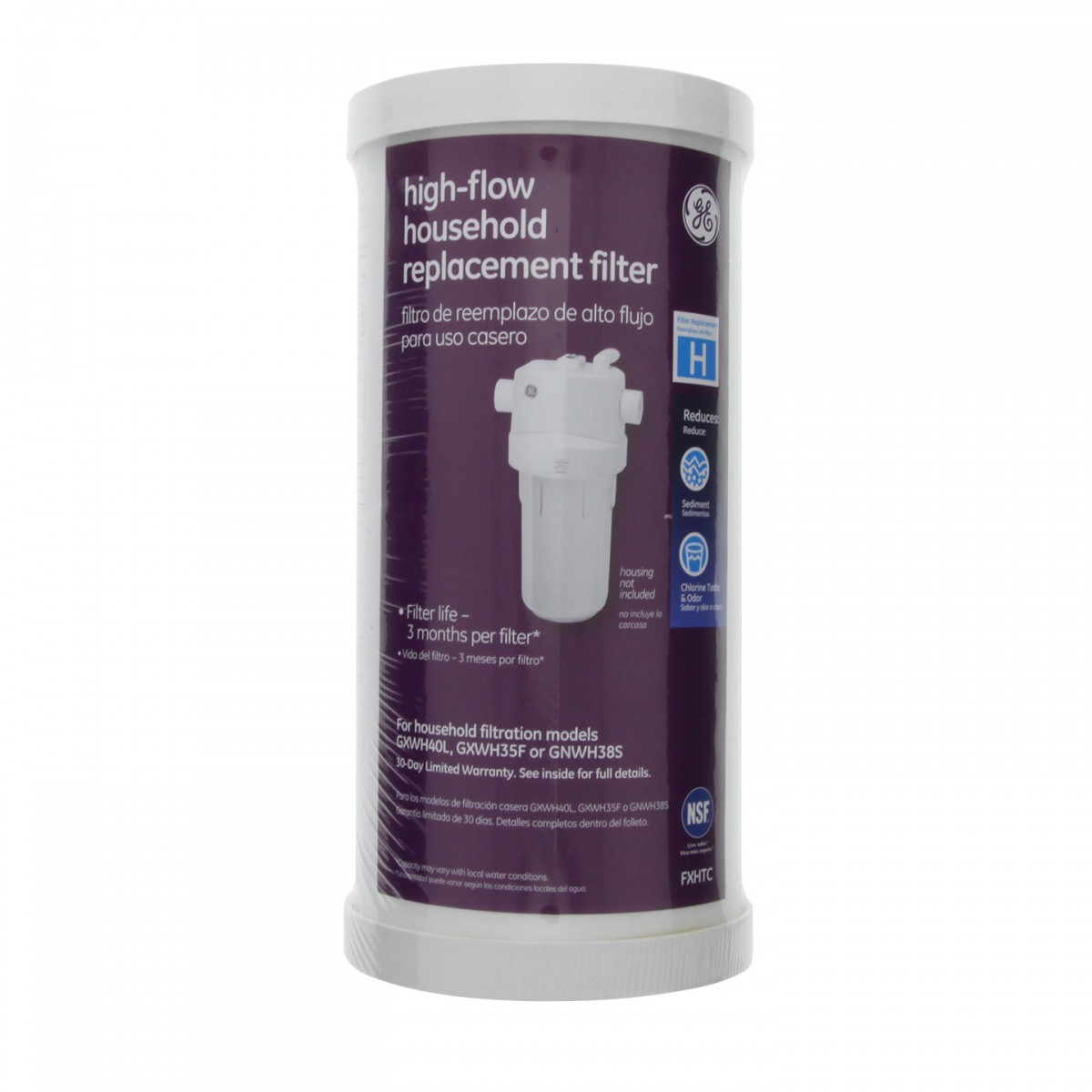 ge smartwater fxhtc whole house water filter. Black Bedroom Furniture Sets. Home Design Ideas