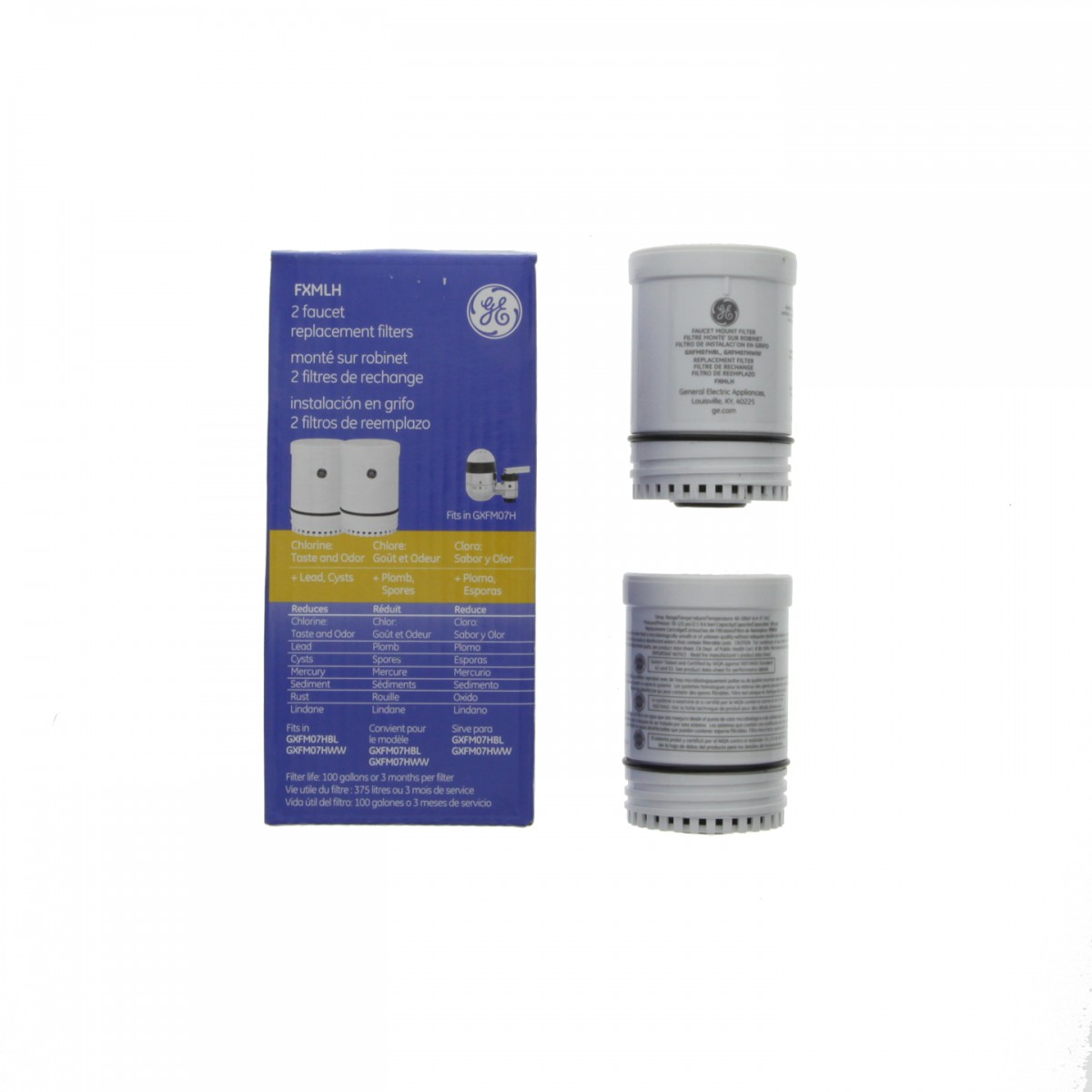 FXMLH GE Faucet Filter Replacement Cartridge