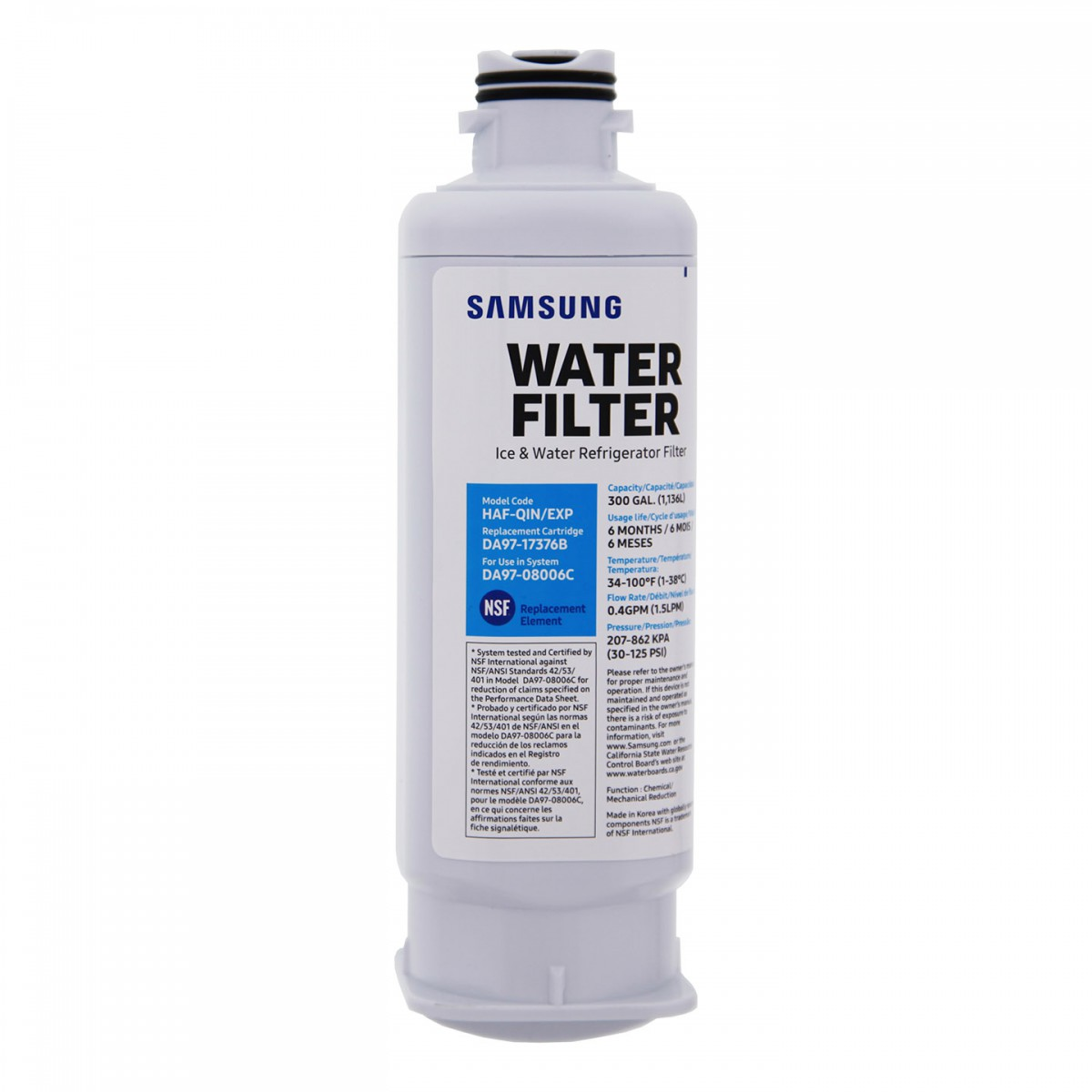 Samsung Da97 17376b Haf Qin Refrigerator Replacement Water