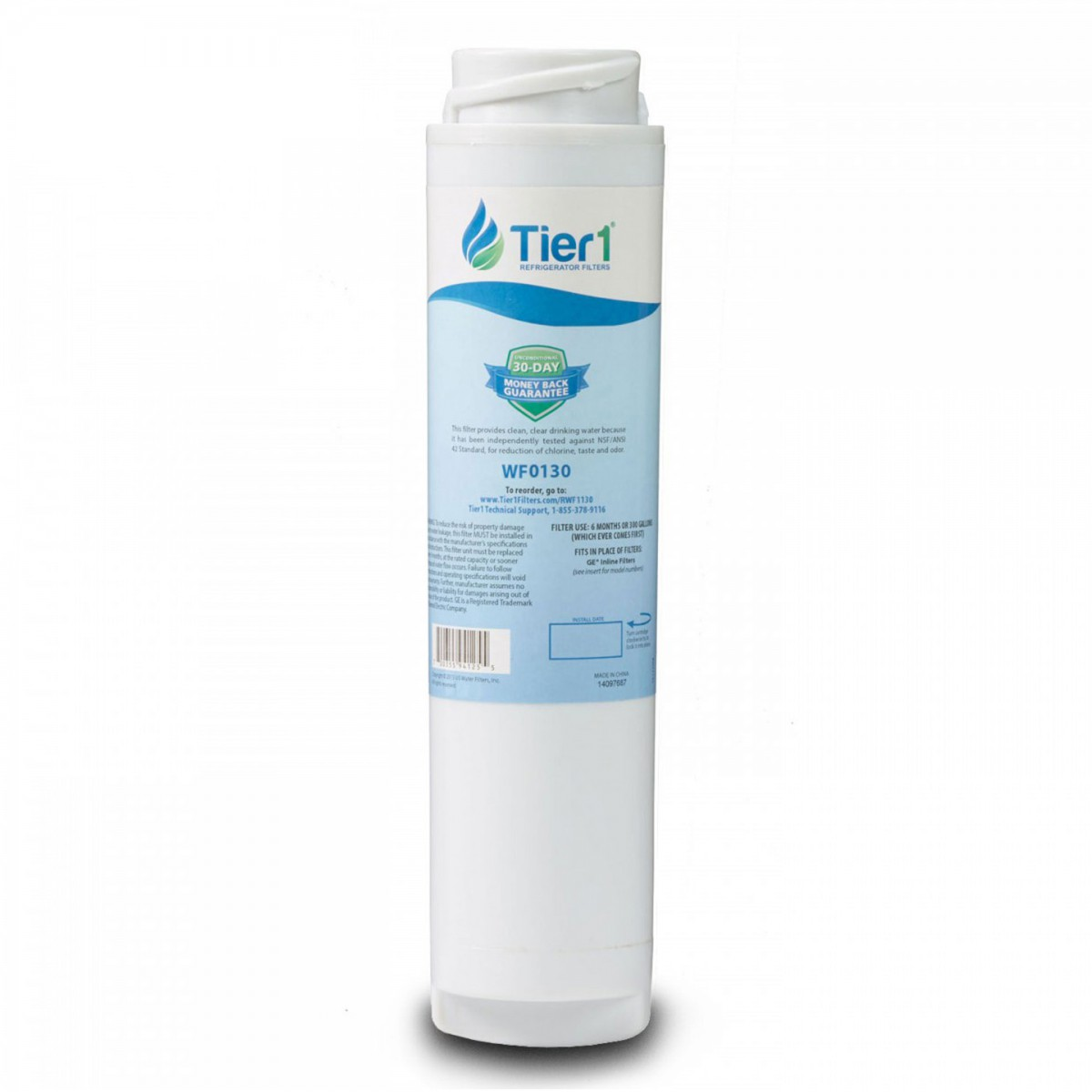 ge gxrlqr comparable refrigerator water filter by tier1. Black Bedroom Furniture Sets. Home Design Ideas