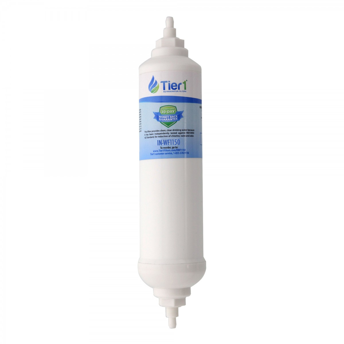 samsung da2910105j comparable inline water filter cartridge by tier1 - Water Filter Cartridge