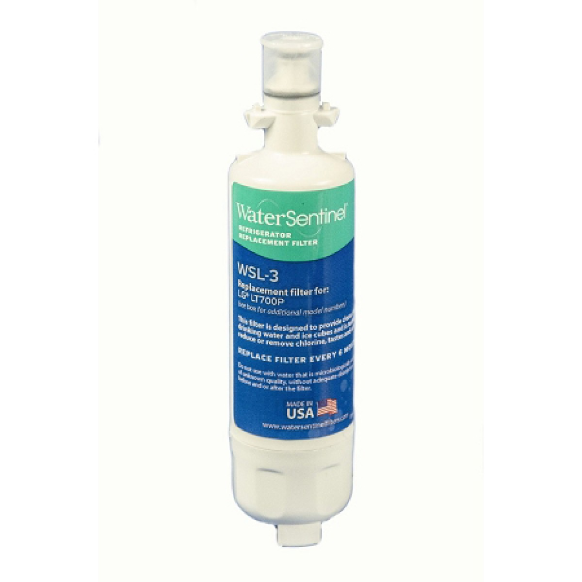 lg refrigerator replacement filter. lg lt700p refrigerator water filter: comparable replacement by sentinel lg filter 0