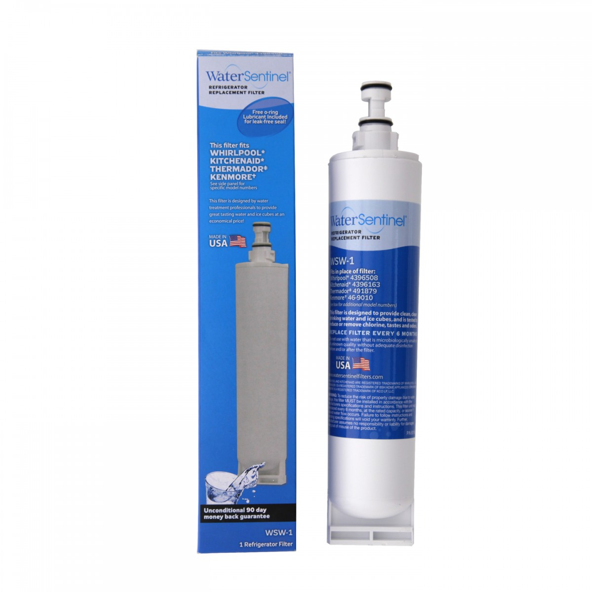 Home > Water Sentinel WSW-1 Refrigerator Water Filter: Whirlpool ...