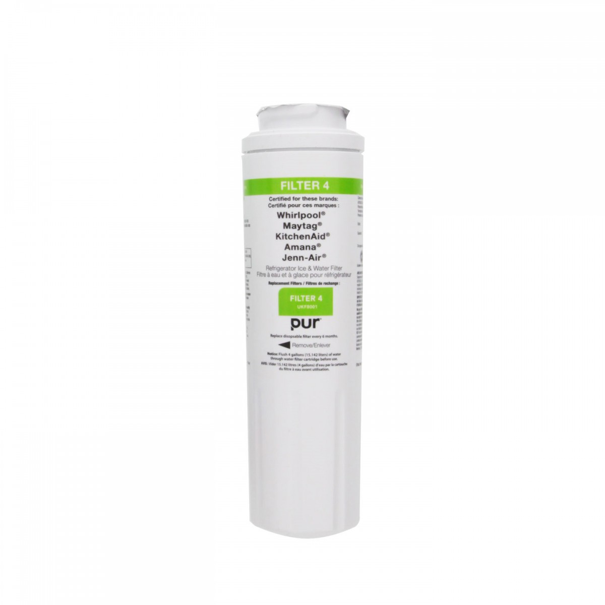 Whirlpool 4396395 refrigerator water filter - Whirlpool refrigerator ice and water filter pur ...