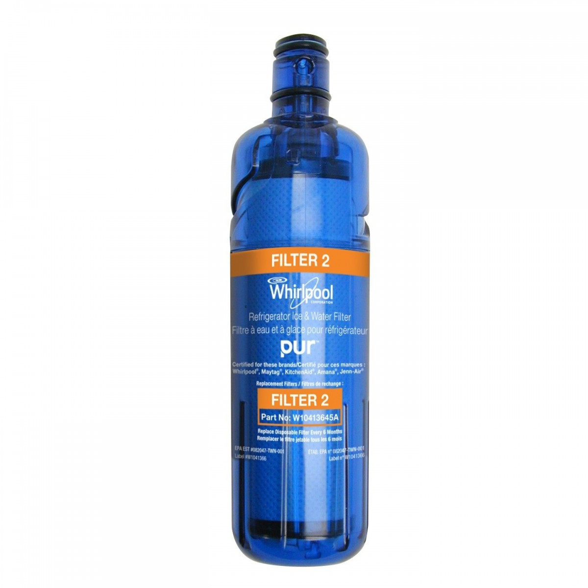W10413645a Whirlpool Replacement Refrigerator Filter