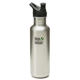 Klean Kanteen Stainless Steel Water Bottle w/Sport-Top (27 oz)