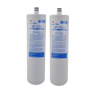 3M Aqua-Pure AP-DW80/90 Pre and Post Water Filter Set