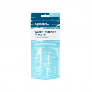 Water Purifier Aquamira 67407 (20 Tablet Pack)