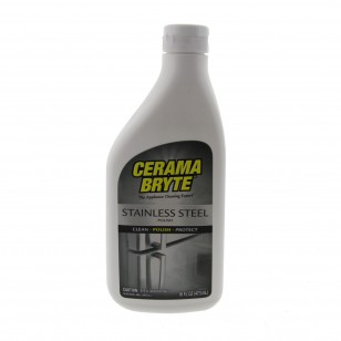 Cerama Bryte 47916 16-Ounce Stainless Steel Polish