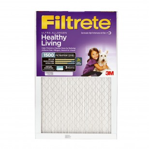 20x20x1 3M Filtrete Ultra Allergen Filter (1-Pack)