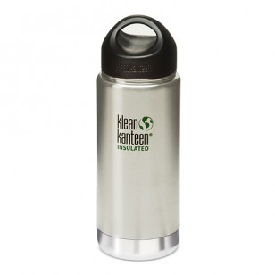 Klean Kanteen K16VWSSL Stainless Steel Wide Insulated Bottle: 16 Ounce w/Loop-cap