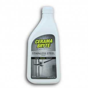 Cerama Bryte 49616 16-Ounce Stainless Steel Brightener Bottle