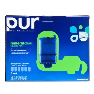 PUR RF-9999-6 Faucet Filter Replacement Cartridge (3-Stage)