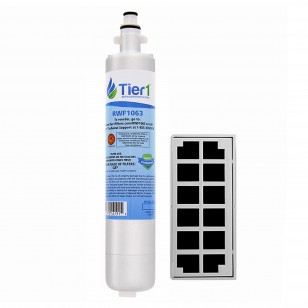 GE RPWF with Odor Filter Comparable Refrigerator Water and Air Filter Combo by Tier1