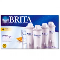 Brita 42432 Water Pitcher Filter Replacement Cartridges (4-Pack)