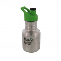 Klean Kanteen Stainless Steel Water Bottle w/Sport-Top (12 oz)