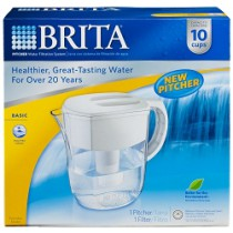 Brita Everyday Water Filter Pitcher (80 oz.)