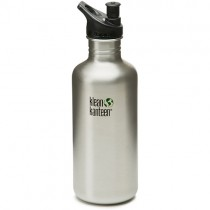 Klean Kanteen Stainless Steel Water Bottle w/Sport-Top (40 oz)