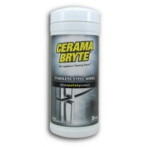 Cerama Bryte 48635 Stainless Steel Cleaner Wipes