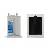 Frigidaire WF2CB and PAULTRA Comparable Refrigerator Water Filter and Air Filter Combo by Tier1