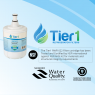 Whirlpool 8171413/8171414 Comparable Refrigerator Water Filter Replacement By Tier1 (Chart 1)