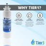LG LT800P Comparable Refrigerator Water Filter Replacement By Tier1 (Chart 1)