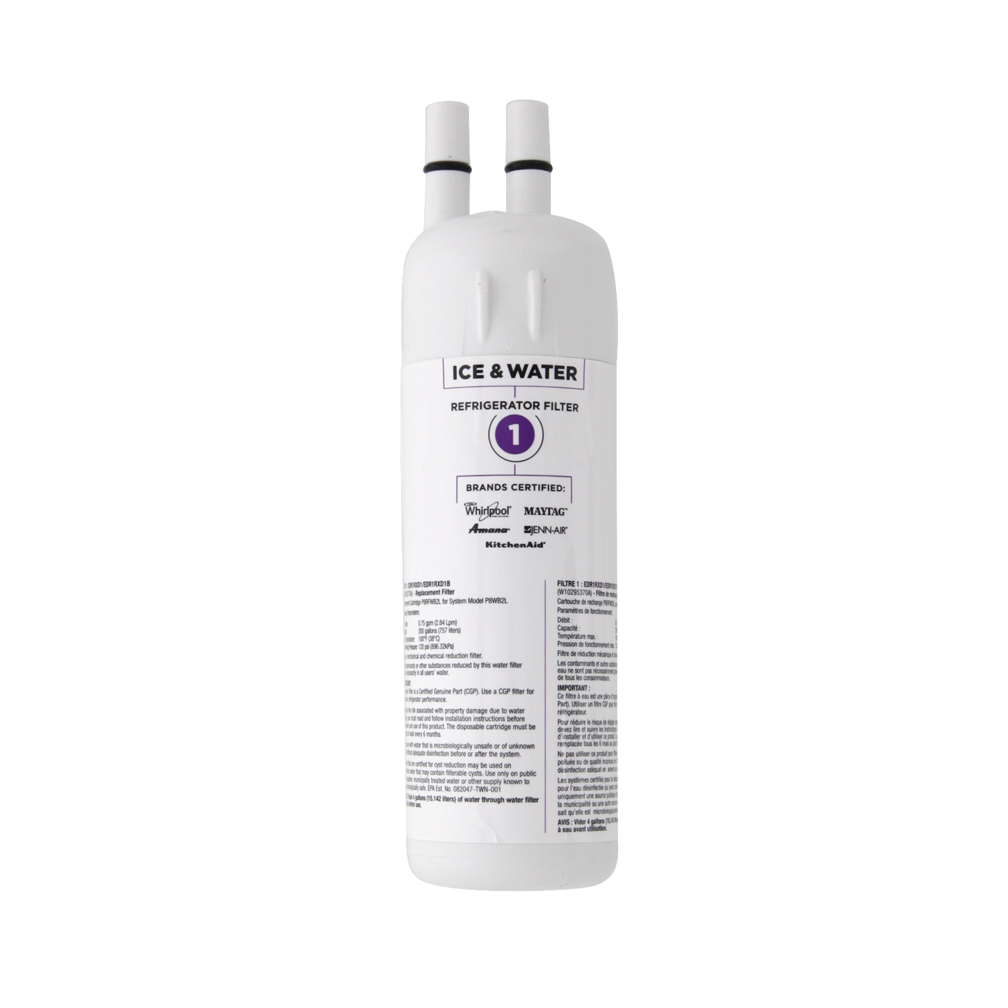Click here for Whirlpool W10295370A EveryDrop EDR1RXD1 (Filter 1)... prices
