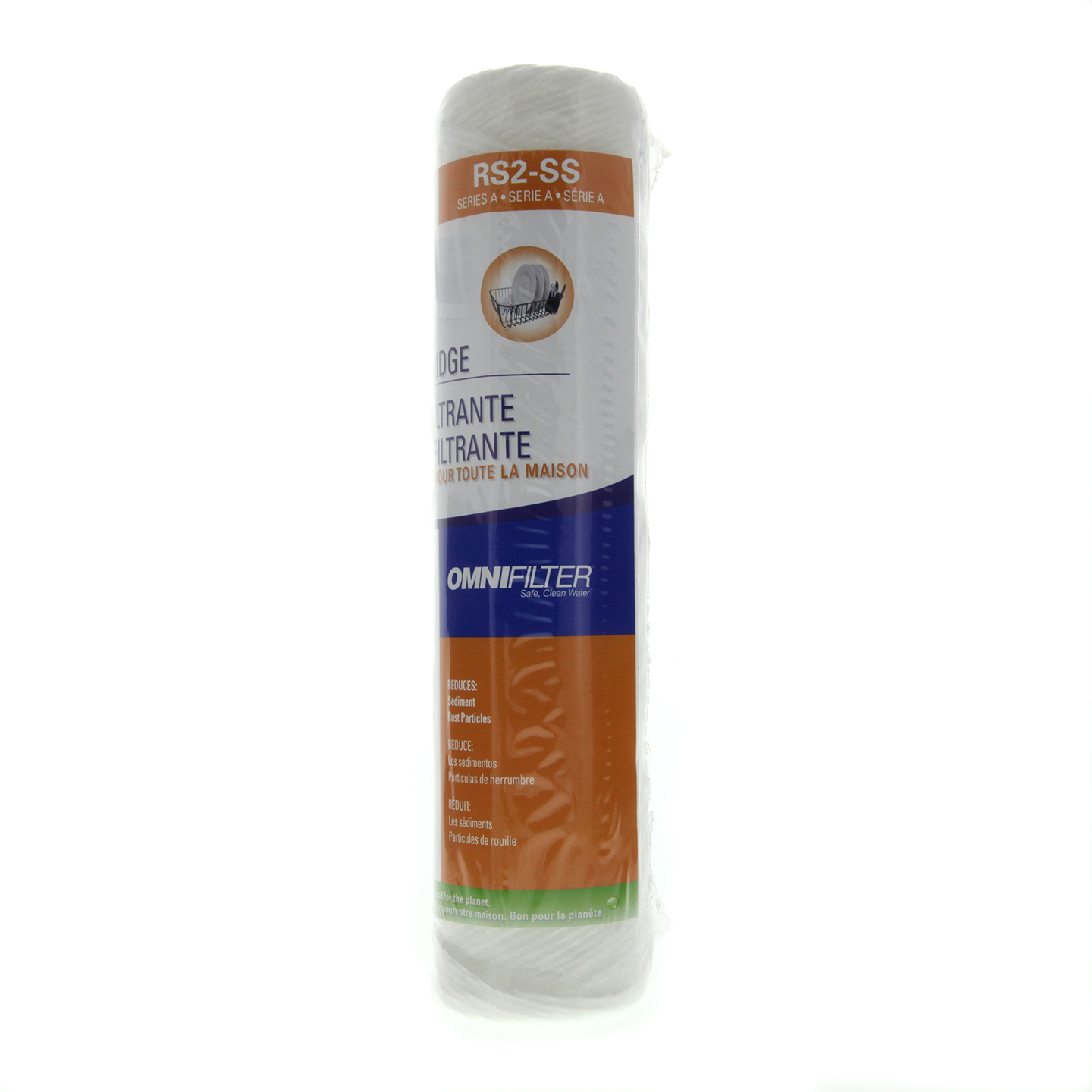 OmniFilter RS2-SS Whole House Water Filter Replacement Cartridge