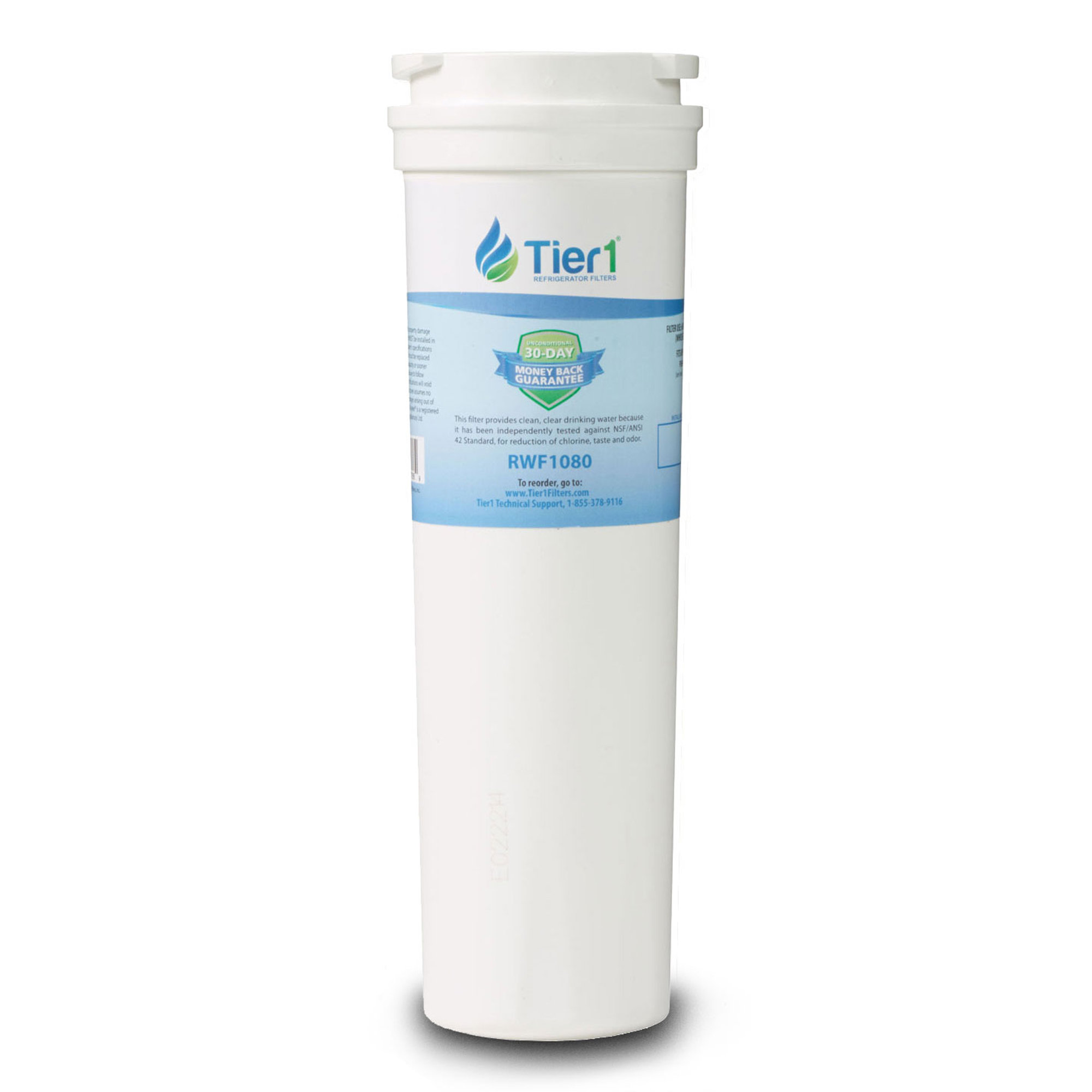 Fisher & Paykel 836848 Comparable Refrigerator Water Filter Replacement by Tier1 TIER1-RWF1080