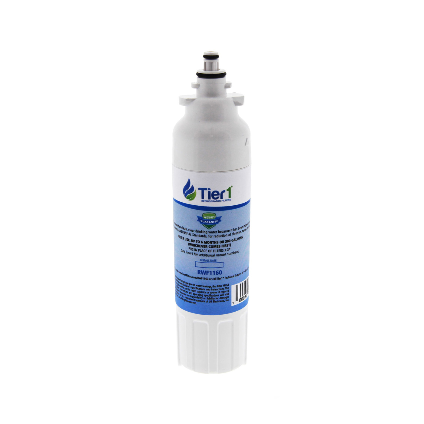 LG LT800P Comparable Refrigerator Water Filter Replacement By Tier1 TIER1-RWF1160