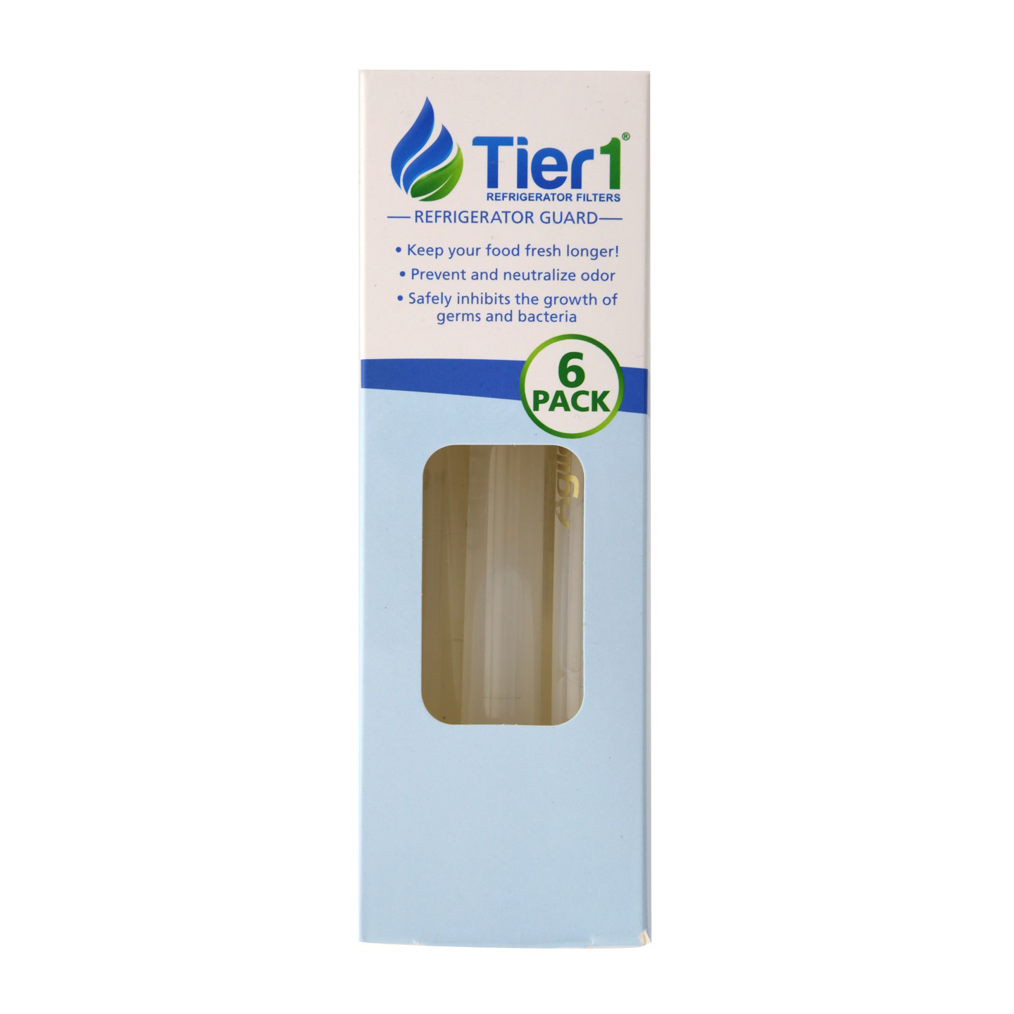 Universal Refrigerator Odor and Bacteria Inhibiting Air Freshener by Tier1 (6 Pack) TIER1-RAF1160-6PK